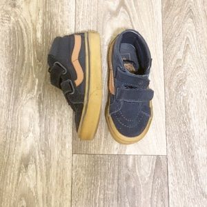 Toddler Navy/Tan Vans